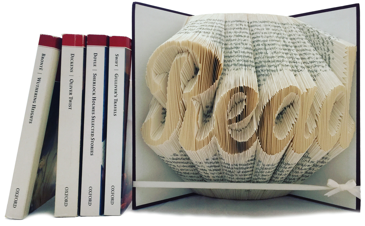 Folded Books