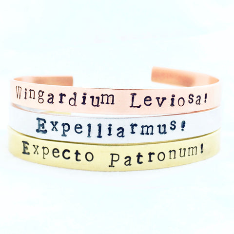 Harry Potter Spell Bracelets