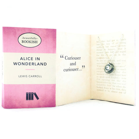 Alice In Wonderland Necklace - Teacup