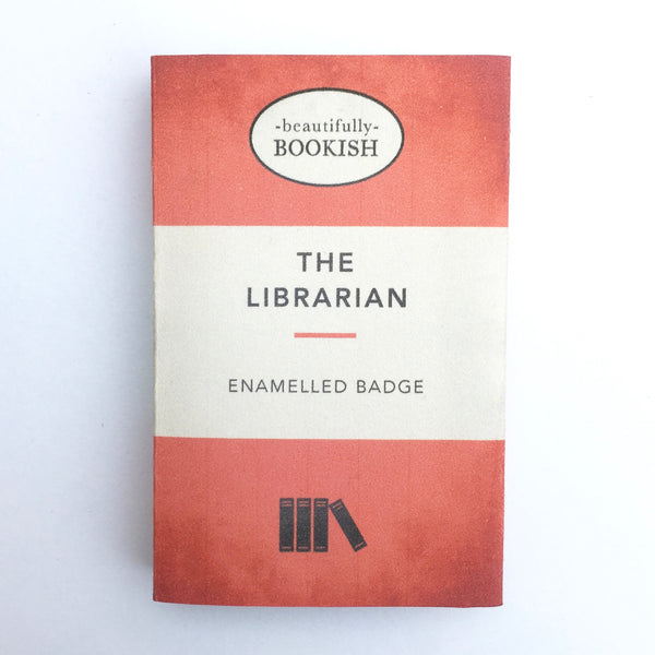 Red Librarian Badge