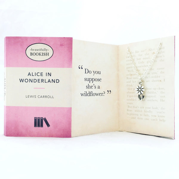 Alice In Wonderland Necklace - Wildflower
