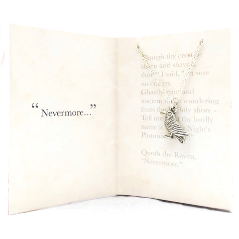 The Raven Necklace - Raven