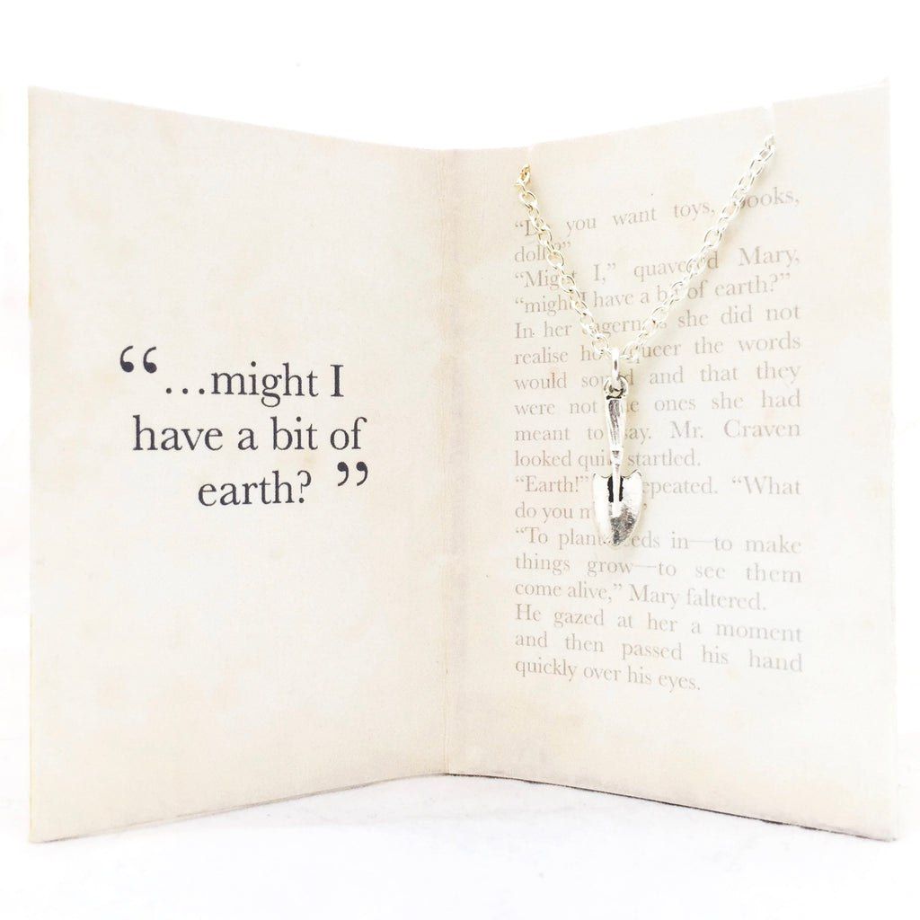 The Secret Garden Necklace - Spade