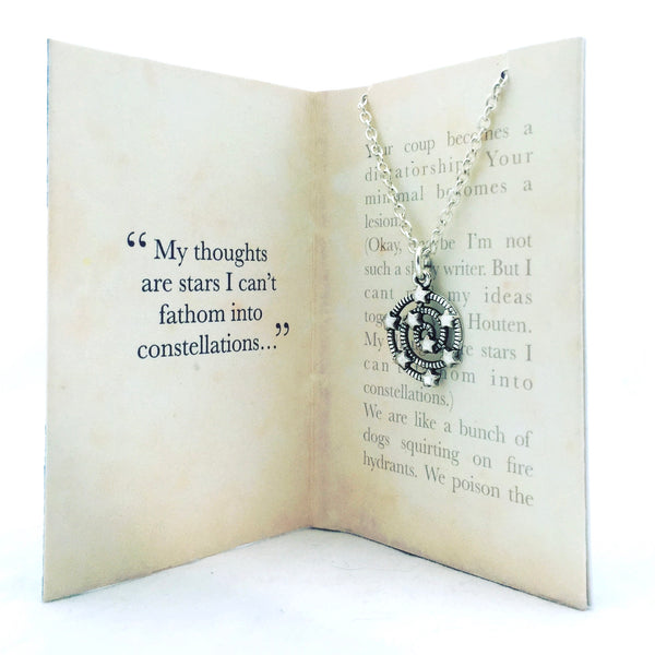 The Fault In our Stars Necklace - Fathom into Constellations