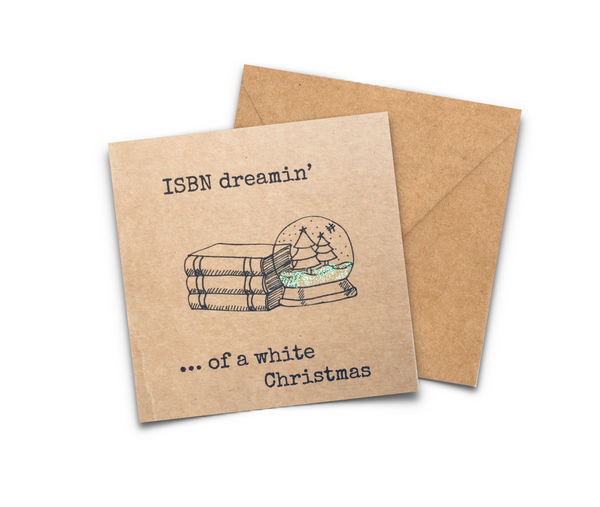 Bookish Christmas Card Set