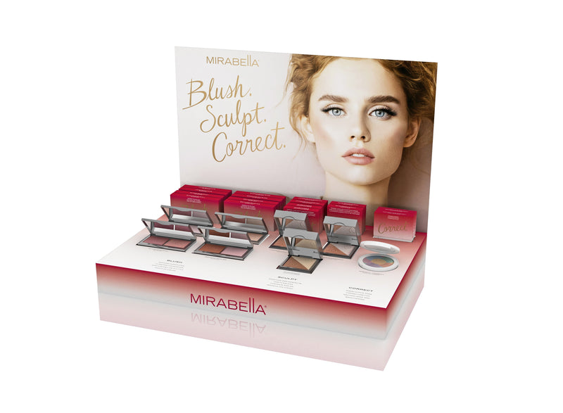Blush. Sculpt. Correct. Display - Mirabella Beauty