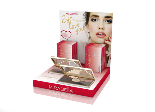 Rendezvous/Seduction Eye Love You Display Intro Kit - Mirabella Beauty