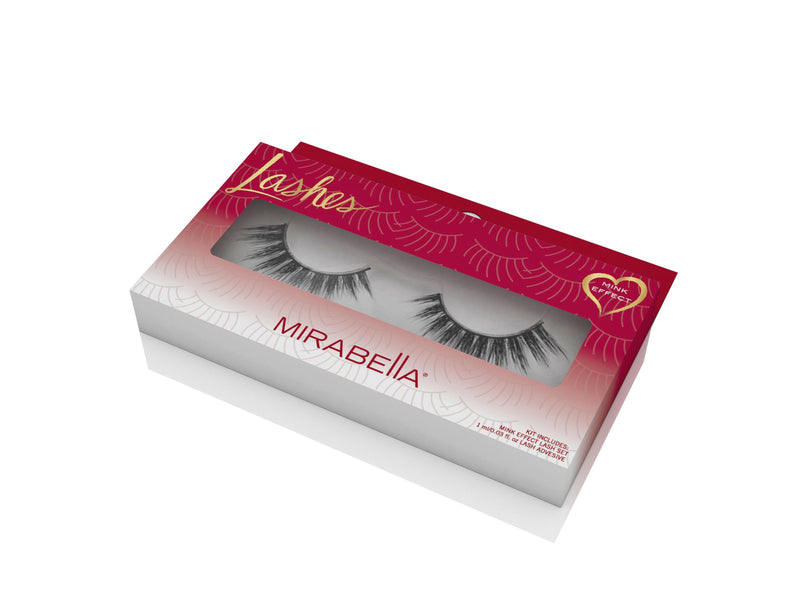 Mink Effect Faux Lashes Set
