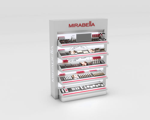 Open Sell Display with Testers - Mirabella Beauty