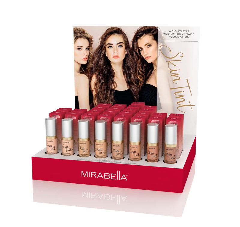 Skin Tint Créme Point of Purchase Display Intro Kit - Mirabella Beauty