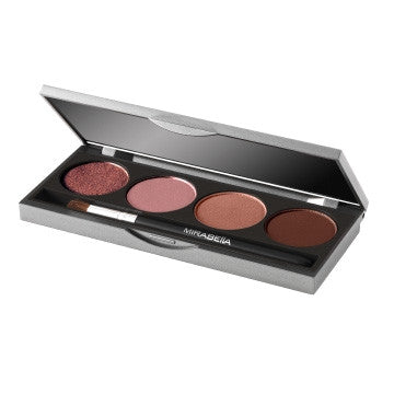 Pressed Mineral Eyeshadow Quad - Mirabella Beauty