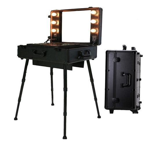 Lighted Vanity Travel Case - Mirabella Beauty