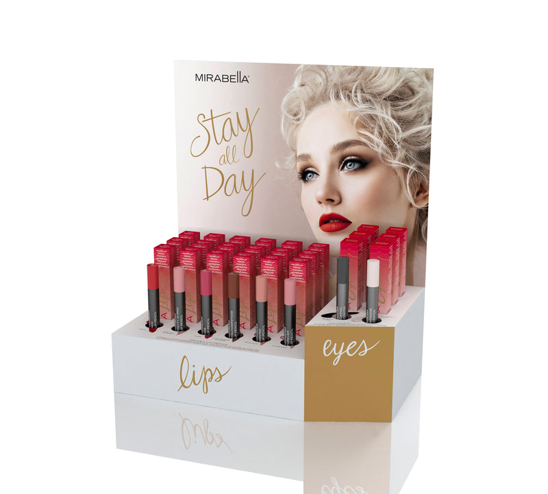 Stay All Day Display - Mirabella Beauty