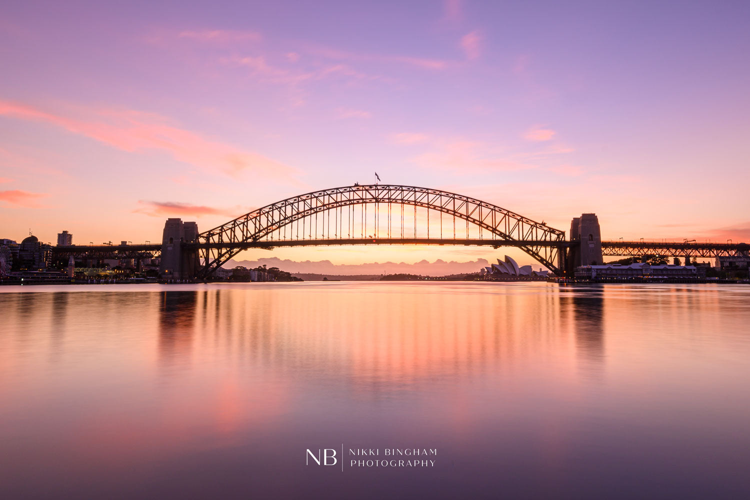 sydney harbour sunrise
