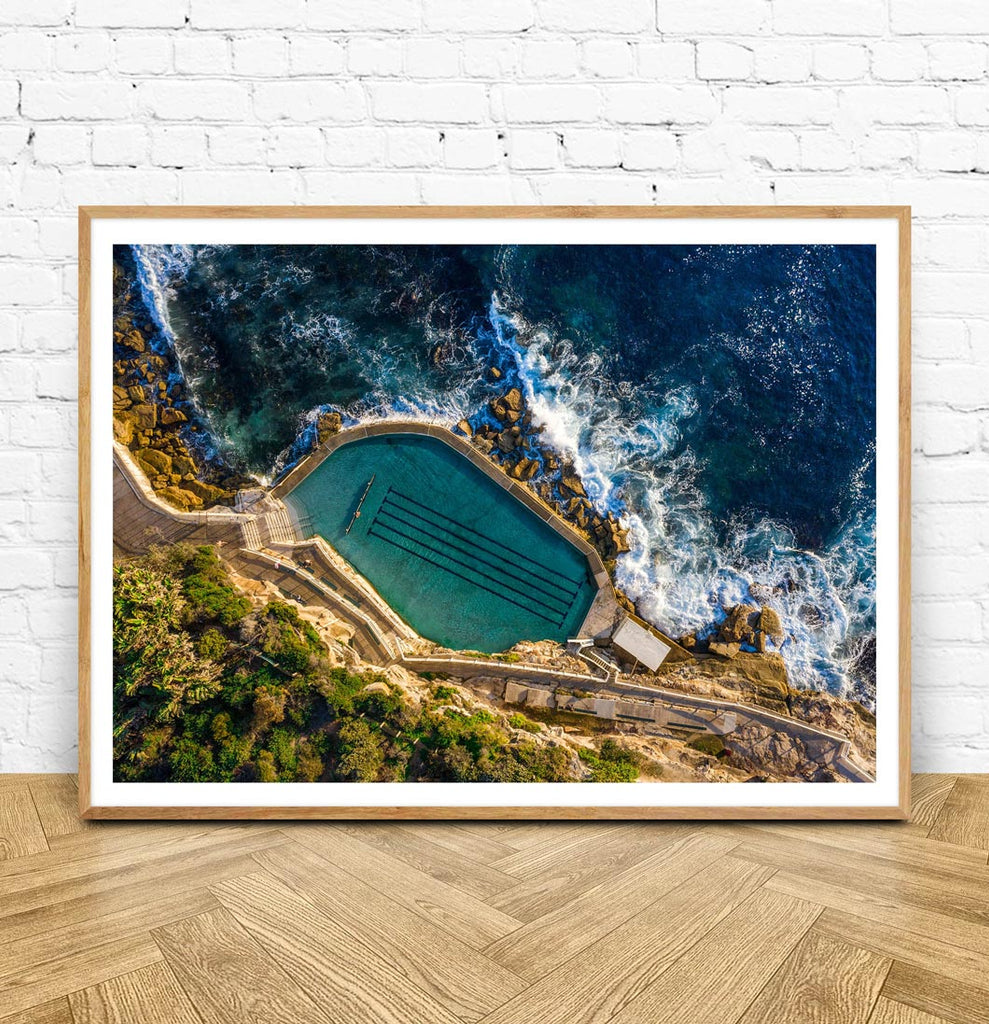 Framed Bronte Pool Photo