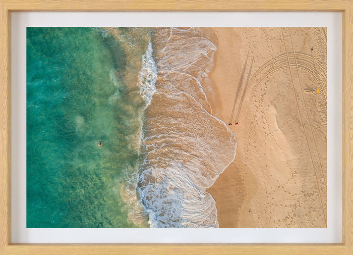 bronte beach aerial photography print