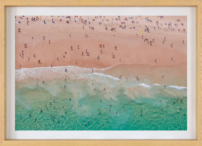 Bondi Beach Aerial Photo Print