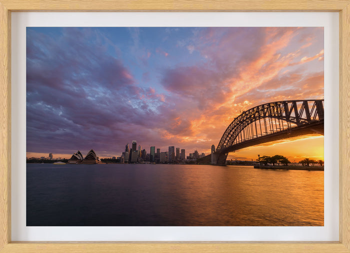 Sydney Sunset Photo Print