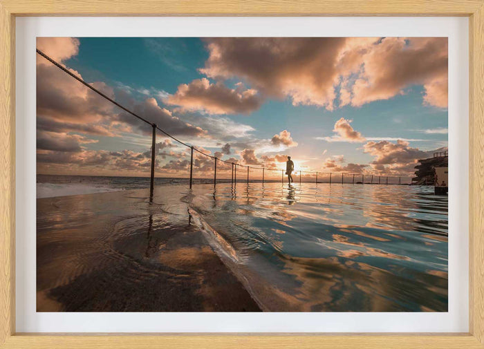Bronte Ocean Pool Sunrise Print