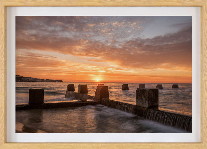 Coogee Beach Framed Print