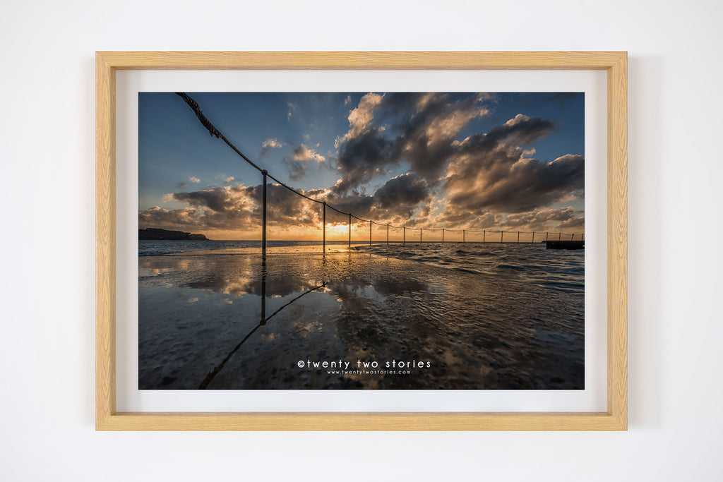 Bronte Pool Photography Print