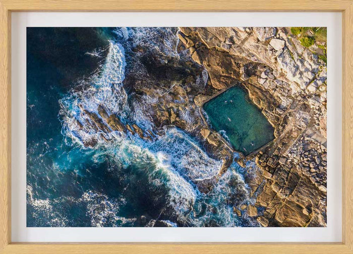 Mahon Pool Maroubra Aerial Photography