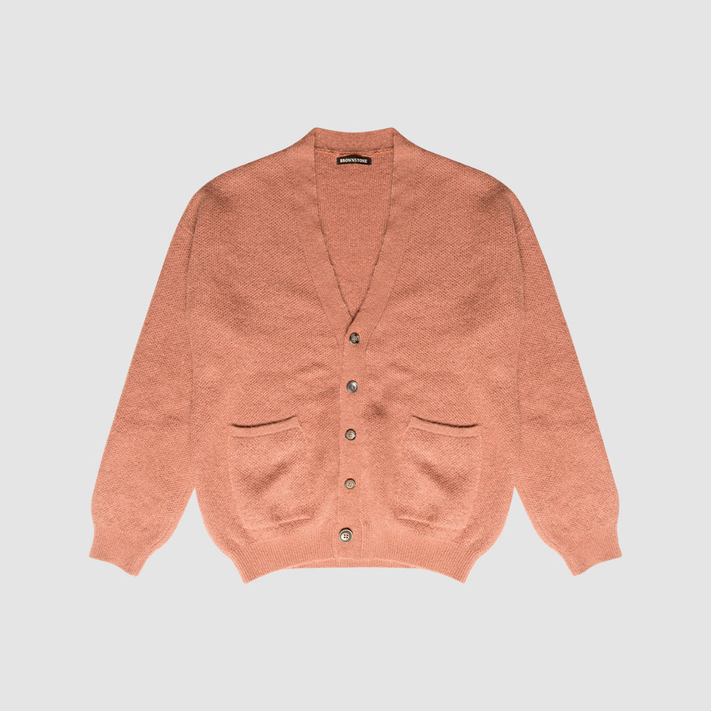 Drop Shoulder Patch Pocket Cardigan