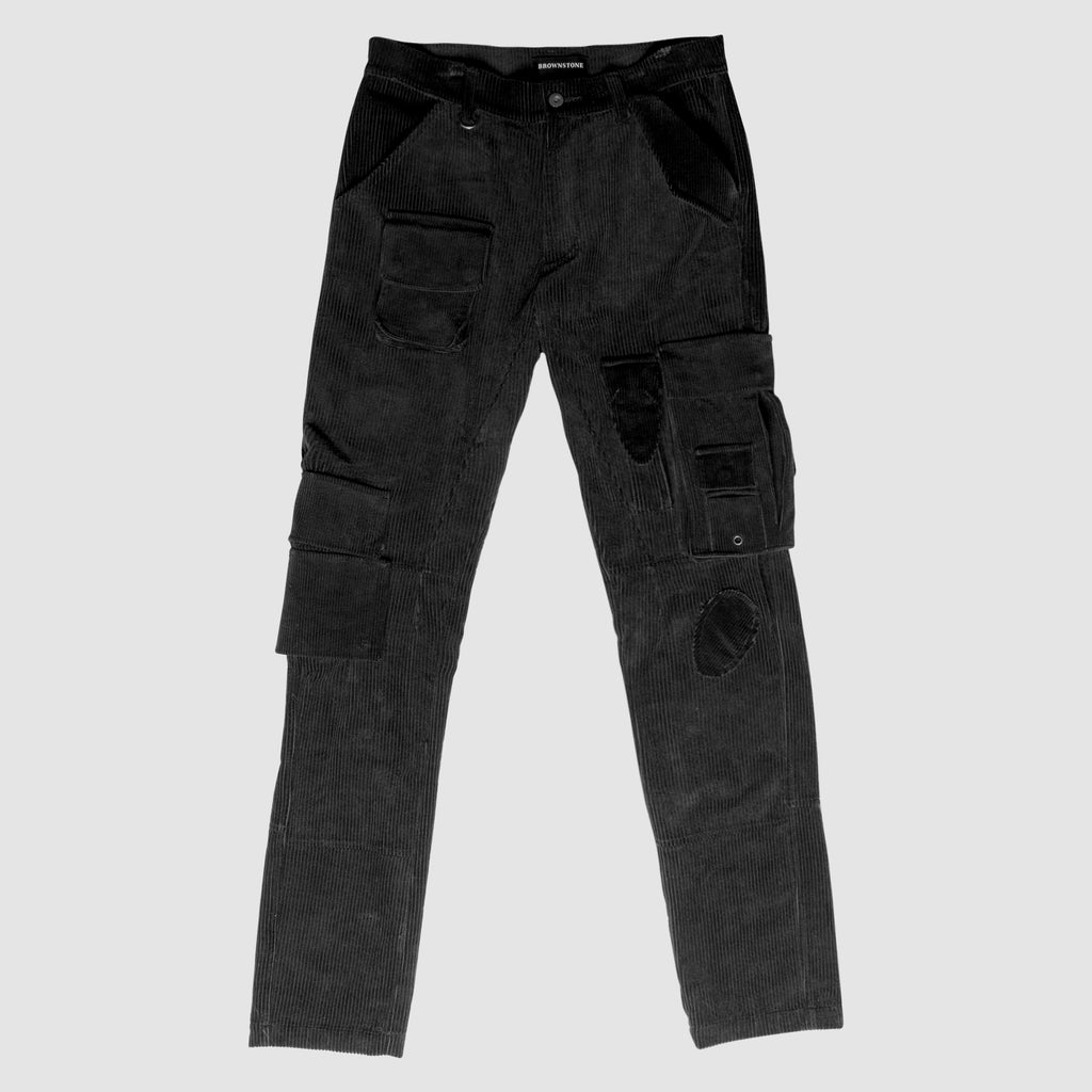 14 Pocket Cargo Pant - Black
