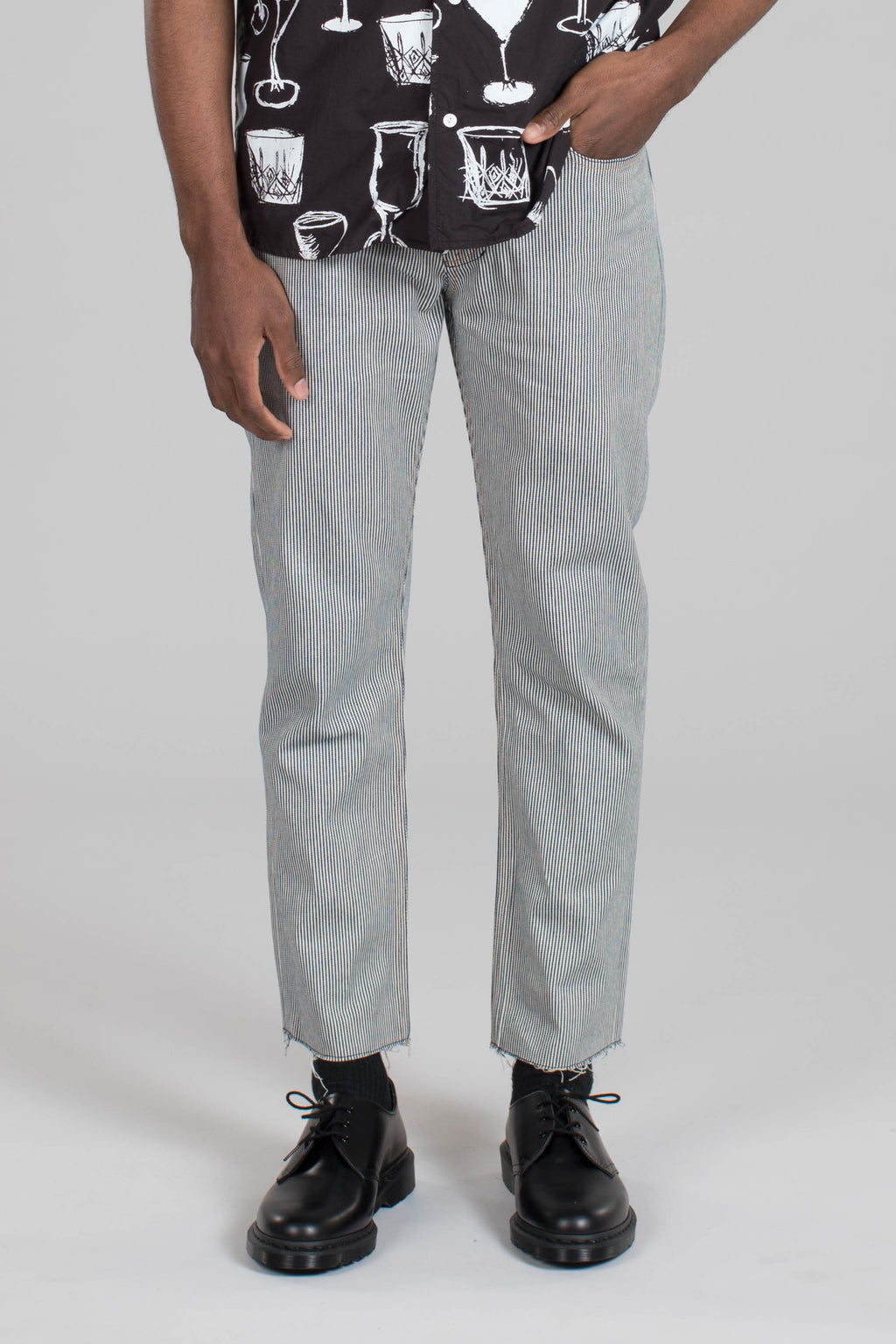 5Pkt Cropped Pant - Railroad