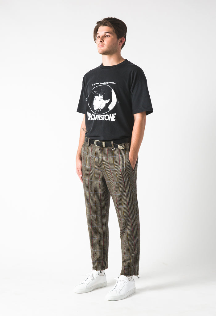 Crop Trouser - Stonetooth
