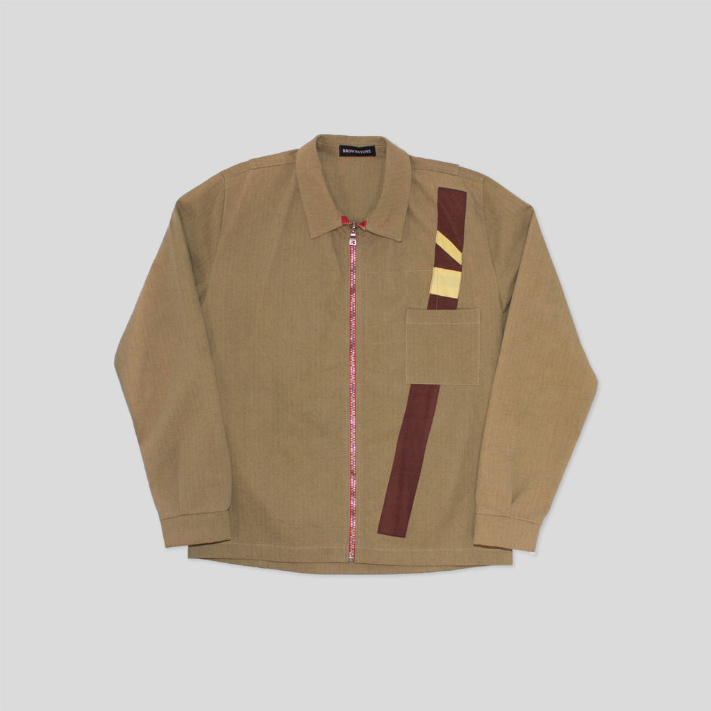 Shirt Jacket - Khaki