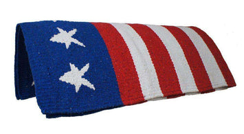 Tahoe Patriotic Acrylic Saddle Blanket 32
