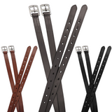 "Paris Tack Schooling 1"" Wide English Stirrup Leathers for Daily Use with One Year Warranty"