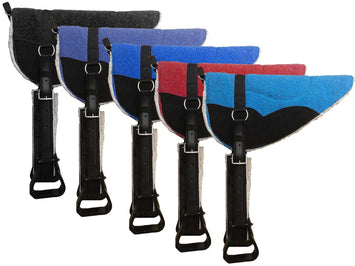Extra Comfort 4 Layer Padded Bareback Pad with Stirrups by Tahoe Tack - Tack Wholesale