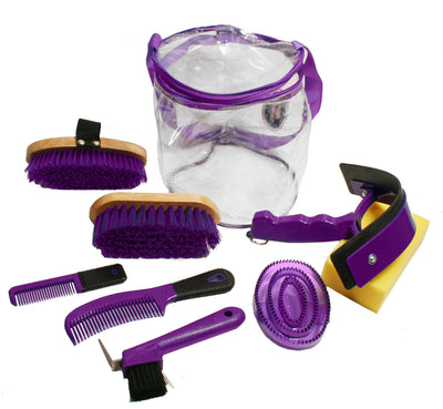 Derby Originals Deluxe 9 Item Horse Grooming Kit