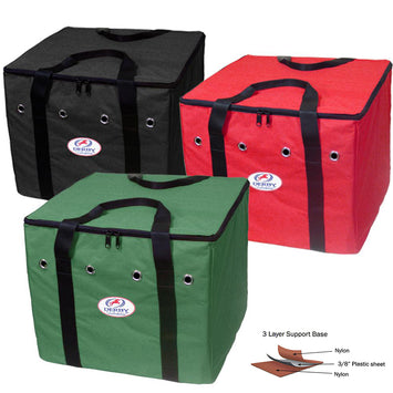 Derby Originals 600D Nylon Half Hay Bale Bag with Triple Layer Bottom and One Year Warranty