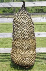 "Derby Originals 48"" Superior Slow Feed Soft Mesh Hanging Hay Net for Horses"