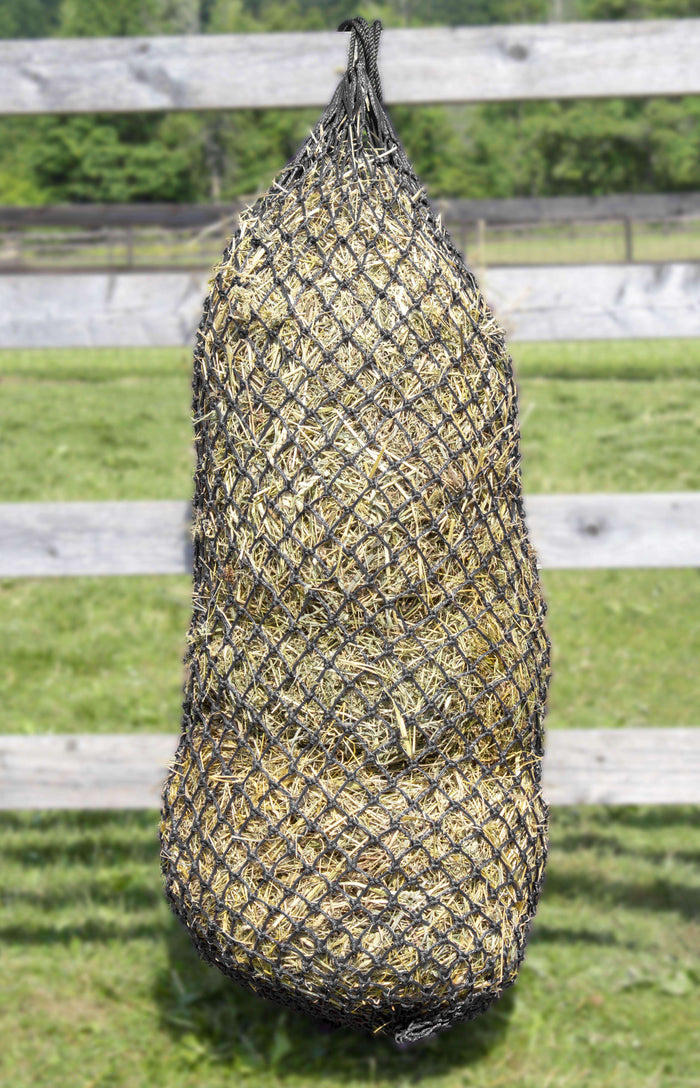 "Derby Originals 56"" XL Super Slow Feed Poly Rope Hanging Full Bale Hay Net"