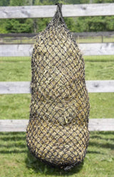 "Derby Originals 90"" XL Hankering Horse Slow Feed Poly Rope Multi-Bale Hay Net with 2x2"" Holes"
