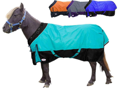 Derby Originals WindStorm 1200D Ripstop Waterproof Winter Heavyweight Mini Horse & Pony Turnout Blanket with 300g Insulation and Two Year Warranty