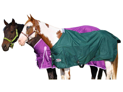 Derby 600D Rain Sheet with Lining- Lightweight - Tack Wholesale