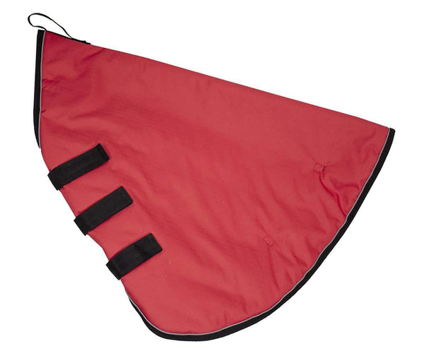 Derby Originals Windstorm Series Premium Matching Horse Winter Blanket Hood Neck Covers with 1200D Ripstop Waterproof Nylon Exterior - Heavy Weight 150g Polyfil Insulation