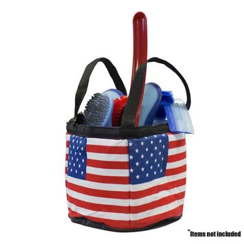 Patriotic Horse Grooming Tote Bag - Tack Wholesale