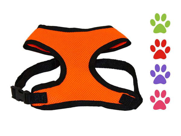 CuteNfuzzy Comfort Mesh Dog Harness - Tack Wholesale