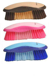 Derby Super Grip Stiff Crinkled Bristle Dandy Brush - Tack Wholesale