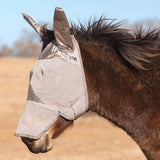 Cashel Crusader Standard Mule Donkey Fly Mask with Long Nose and Ears