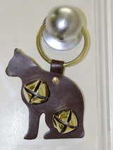 Tahoe Sleigh Door Bell Hanger Cat 2 Bells