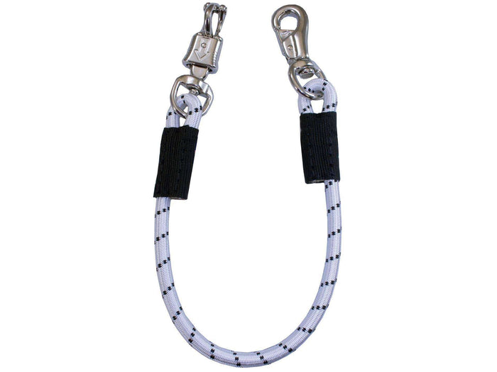Bungee Trailer Tie with Bull and Panic Snap by Derby - Tack Wholesale