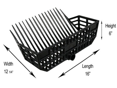 Derby Basket Manure Pitch Fork Replacement Heads