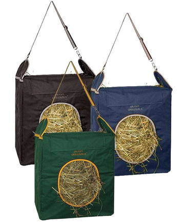 Easy Feed Top Load Hay Bags by Derby Originals Super Sale - Tack Wholesale